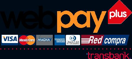 Con tarjetas de débito y crédito, o Redcompra, por Webpay